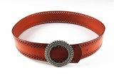Da forma Cintura Punching Correia do estilo da senhora nova com as curvaturas de correia de Heronsbill - Jbe1625