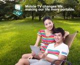 DVB-T2、DVB-Tのヨーロッパ人または東南アジアのための人間の特徴をもつ電話またはタブレットTVの受信機