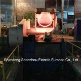 小さいアルミニウムオーブンの油圧傾く炉