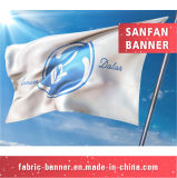 Designprinting su ordinazione mette in mostra la bandierina, facente pubblicità alla bandierina