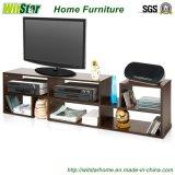 Soporte de madera del LCD TV de los muebles modernos de la sala de estar con el almacenaje grande (WS16-0030)