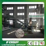 Linha de produção de madeira completa de venda quente da pelota de China
