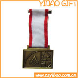 Подгонянное дешевое медаль пожалования PVC для партии масленицы (YB-MD-64)