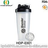 Оптовые BPA освобождают пластичную бутылку воды трасучки протеина, 600ml подгонянная пластичная бутылка трасучки порошка (HDP-0301)