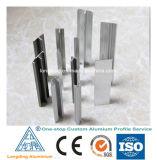 ألومنيوم زجاجيّة درابزون قطاع جانبيّ لأنّ درابزون /Aluminium قطاع جانبيّ