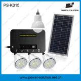 Iluminación casera solar recargable con la carga del teléfono (PS-K015)
