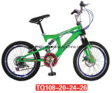 Aço barato Steel Accepted Double Suspension MTB / Bike for Adult