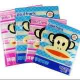 La vente en gros a personnalisé le dépliant en plastique estampé de livre de couverture de livre de PVC dans Guangzhou