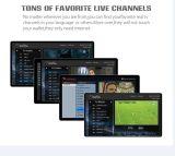 IPTVの人間の特徴をもつクォードのコア完全なHD DVB-S2+DVB-T2+DVB-C+ISDB