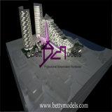 Générateur de modèle d'échelle de bâtiment d'hôtel, effectuer de modèle de Chambre (BM-0010)
