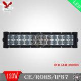 Barra ligera campo a través del LED con 6D la viruta 120W