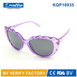 Kqp16935 New Design Beautiful Kids Lunettes de soleil Girls Elegant