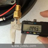 Conetor do punho M16*1.5 do quadrado da tocha de estaca do plasma do ar P80 5 medidores de cabo de couro