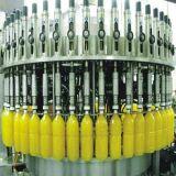 Máquina de enchimento automática do suco do frasco de vidro