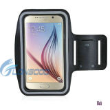 Samsung Galaxy S6edgeのためのスポーツWorkout Adjustable Armband Case
