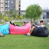Faltbarer Schulter-Beutel-Verpackungs-Feiertags-Strand, der Luft-Sofa-Beutel/Luft Laybag genießt