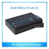 元の衛星TV Decoder DVB S2 + DVB S2 Zgemma-Star 2s