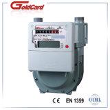 Gas elegante Meter-G2.5 del diafragma del pago adelantado de la tarjeta del IC