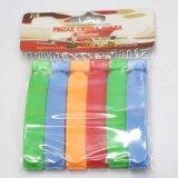 Agrafe colorée de /Bag/Paper d'emballage en plastique
