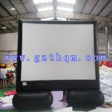 Nouvel écran de film gonflable commode