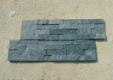 Tuile en pierre normale de mur d'ardoise de culture de placage pour la décoration