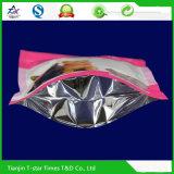 Mit Reißverschluss Aluminiumfolie-Fastfood- Folien-Nahrung- für Haustierebeutel