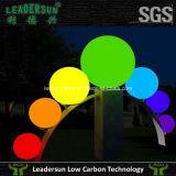 La linterna LED subacuático del laser del regulador del RGB enciende la piscina Ldx-B03 ligero