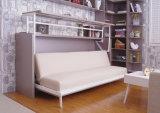 Sepsion Single Side Schlafzimmer-Wand-Bett mit Schreibtisch Anheben Fj-13