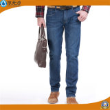 Брюки хлопка джинсыов простирания вскользь людей нового способа прямые