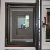 Ventana interna Kz112 de la inclinación y de la vuelta del perfil de madera de aluminio de la alta calidad