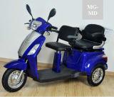 triciclo elettrico di 48V 20ah con le doppie sedi