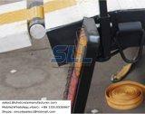 Schlussteil-Typ hydraulischer doppelter Zylinder-thermoplastisches Straßen-Markierungs-Lack-Vorheizungsgerät