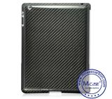 iPad 2를 위한 높은 Luxury 100%년 Real Carbon Fiber Back Case 3 4