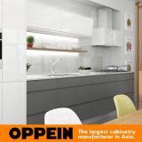 Oppein Form-bunter hoher Glanz-Lack-Küche-Schrank (OP16-L11)