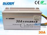 CC 24V del convertitore di potere dell'automobile al convertitore elettronico dell'automobile 12V (SE-30A)