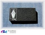 개인화하는을%s 가진 편평한 묘석을 굴을 파는 성격 화강암