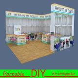 Salon souple d'étalage de cabine d'exposition de mise à niveau