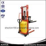 Machine van de Stapelaar van twee Mast de Elektrische met 1-2t