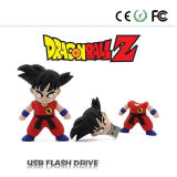 De dibujos animados Dragon Ball Goku Modelo USB 2.0 Memory Stick pluma del flash
