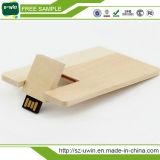 De promotie Aandrijving van de Flits van de Creditcard USB met Vrij Embleem (uwin-079)