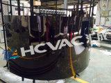 Equipo inoxidable de la máquina de la vacuometalización del oro PVD del estaño del tubo de acero de Hcvac los 3m los 6m