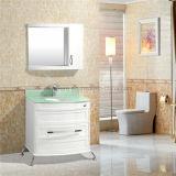 Vanità profonda della stanza da bagno del PVC/12 pollici del Governo di stanza da bagno del Brown
