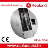 Do cartão biométrico grande do tempo RFID do cartão da capacidade RFID da face da tela de Colorfull reconhecimento de face biométrico de venda quente do sistema do comparecimento do tempo