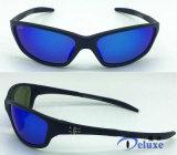 Le plastique folâtre des lunettes de soleil avec le logo fait sur commande (DP1140TL)