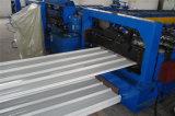 Manuafacturer a enduit le roulis d'une première couche de peinture de toit de mur de tôle d'acier formant la machine