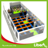 Dodgeball Court di Project australiano Commercial Indoor Trampoline