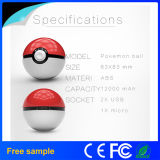 Juegos para móvil de Cosplay Pokemon Ir Pokeball 12000 Power Bank mAh