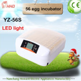 Neueste LED Light Automatic Mini Egg Incubator für Chicken Eggs (YZ-56S)
