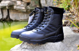 Army (SYSG-559)のための黒いMilitary Combat Boots