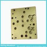 Het professionele CNC Procesing van de Fabrikant Uitstekende het Anodiseren Gele Industriële Profiel van het Aluminium